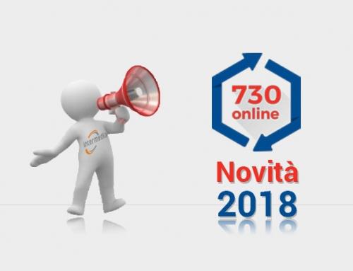 730 Novità 2018